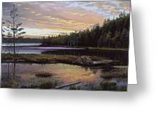 Round Pond Greeting Card