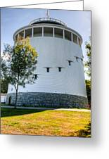 Round Water Tank Bangor Greeting Card