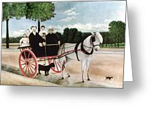 Rousseau: Cart, 1908 Greeting Card