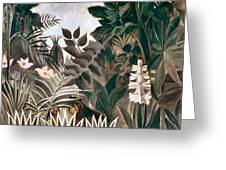 Rousseau: Jungle, 1909 Greeting Card