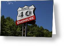 Route 40 Roadhouse Greeting Card