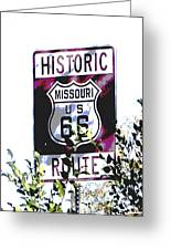 Route 66 2 Greeting Card