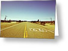Route 66-73 Greeting Card