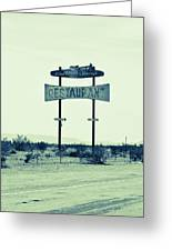 Route 66-80 Greeting Card