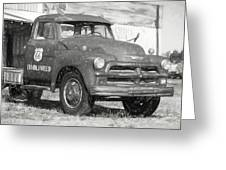 Route 66 Chevy Tumbleweed - #5 Greeting Card