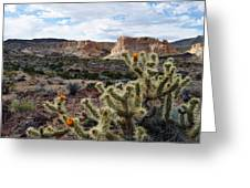 Route 66 Mojave Desert Landscape Greeting Card