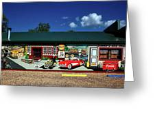 Route 66 Mural Greeting Card