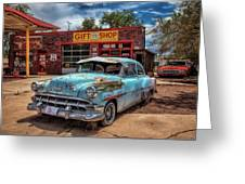 Route 66 Seligman Greeting Card