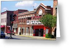 Route 66 Theater Greeting Card