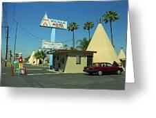 Route 66 - Wigwam Motel 3 Greeting Card