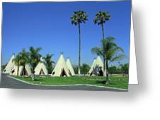Route 66 - Wigwam Motel 4 Greeting Card