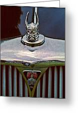 Rover Radiator And Hood Ornament Greeting Card