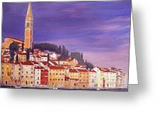 Rovinj Greeting Card