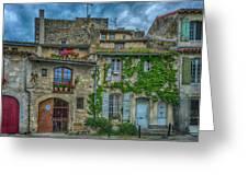 Row Houses Arles France_dsc5719_16_dsc5719_16 Greeting Card