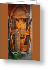 Rowboat Sandhamn Greeting Card