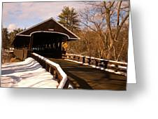 Rowell Bridge Greeting Card