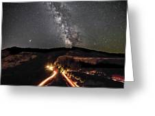 Rowena Milky Way Greeting Card