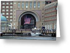 Rowes Warf Greeting Card