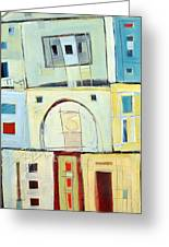 Rowhouse No. 3 Greeting Card