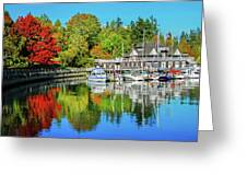 Rowing Club Color Greeting Card