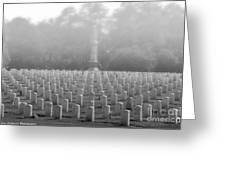 Rows Of Heros Greeting Card