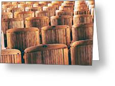 Rows Of Seats Greeting Card