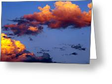 Roy-biv Clouds Greeting Card