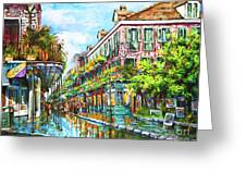 Royal At Pere Antoine Alley, New Orleans French Quarter Greeting Card