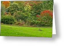 Royal Autumn Colors Greeting Card