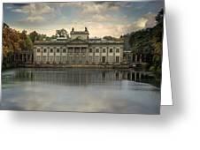 Royal Baths In Warsaw Greeting Card