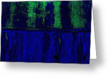 Royal Blue Greeting Card by Marsha Heiken