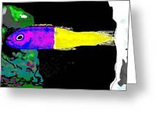 Royal Dottyback Fish Greeting Card