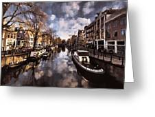 Royal Dutch Canals Greeting Card