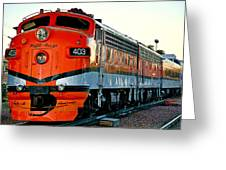 Royal Gorge Engine 403 Greeting Card