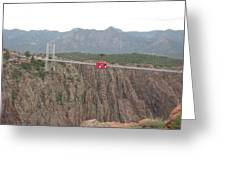 Royal Gorge Greeting Card