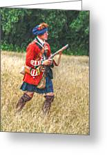 Royal Highlanders 77th Regiment Of Foot  Greeting Card