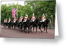 Royal Household Cavalry Greeting Card