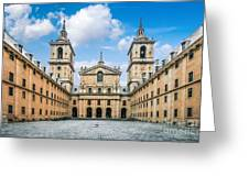Royal Monastery El Escorial Greeting Card