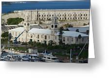 Royal Naval Dockyard Bermuda Greeting Card