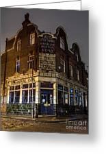 Royal Oak Pub Columbia Road London Greeting Card
