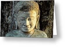 Royal Palace Buddha 02  Greeting Card