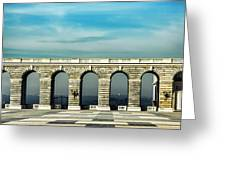 Royal Palace Courtyard Greeting Card