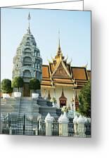 Royal Palace Shrine 03  Greeting Card