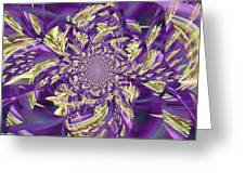 Royal Purple  Greeting Card by Rose  Hill