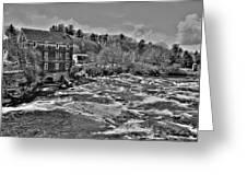 Royal River 0156 Greeting Card
