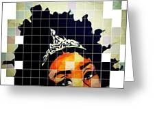 Royal Roots Greeting Card
