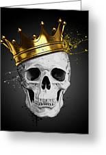 Royal Skull Greeting Card