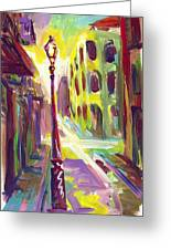 Royal Street New Orleans Greeting Card