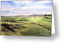 Royal Troon Golf Course Greeting Card