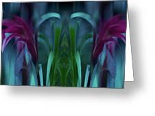 Royalty Transfigured Greeting Card by Wayne King